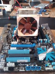 Nouvel Enterprise et ventilateur