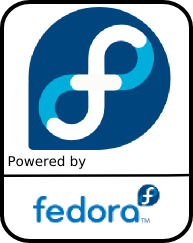 Powered by Fedora Core
